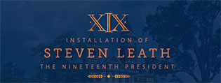 Installation of Steven Leath, the 19th President of Auburn University