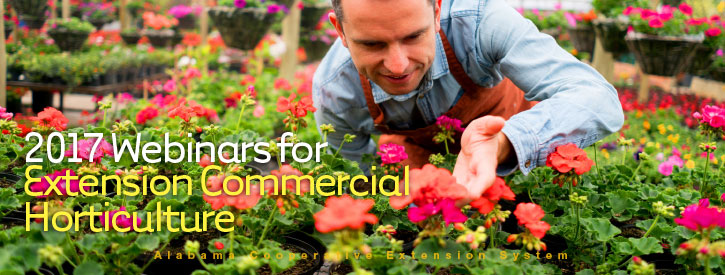 2017 Webinars for Extension Commercial Horticulture