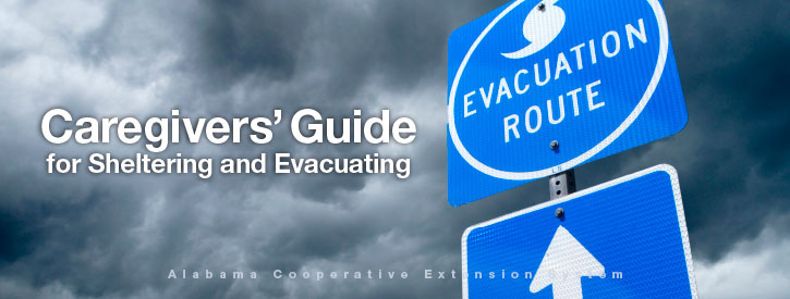 Caregivers' Guide for Sheltering and Evacuating