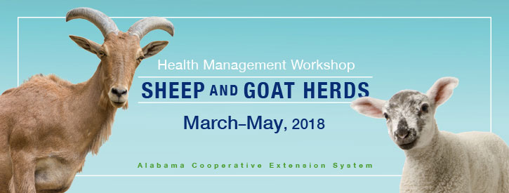 Health Management Workshop: Sheep and Goat Herds, March-May 2018