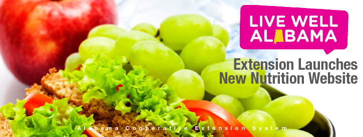 Extension Launches New Nutrition Website