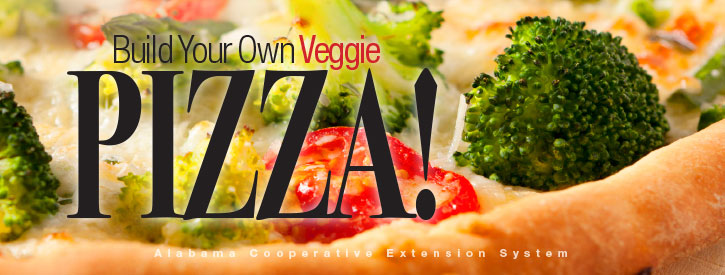 Build Your Own Veggie Pizza