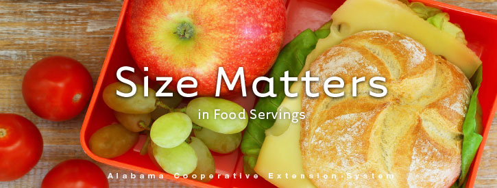 Size Matters in Food Servings