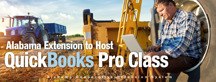Alabama Extension to Host QuickBooks Pro Class
