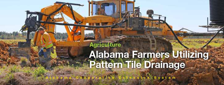 Alabama Farmers Utlizing Pattern Tile Drainage