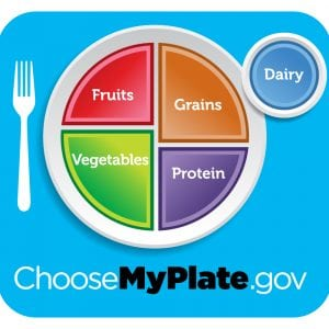 Choose My Plate dot gov logo