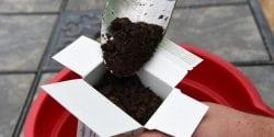 Soil test box.