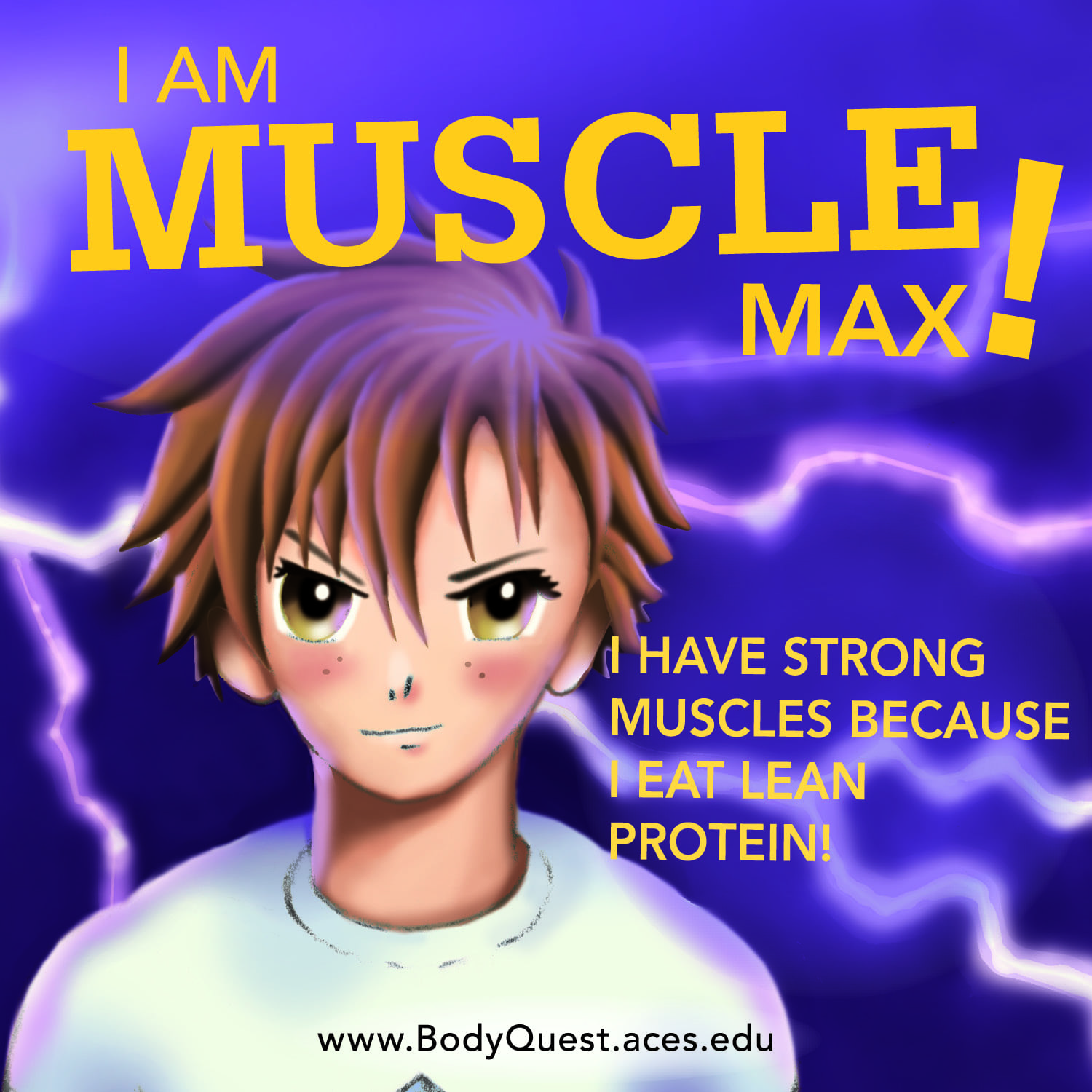 Muscle Max, Body Quest Warrior