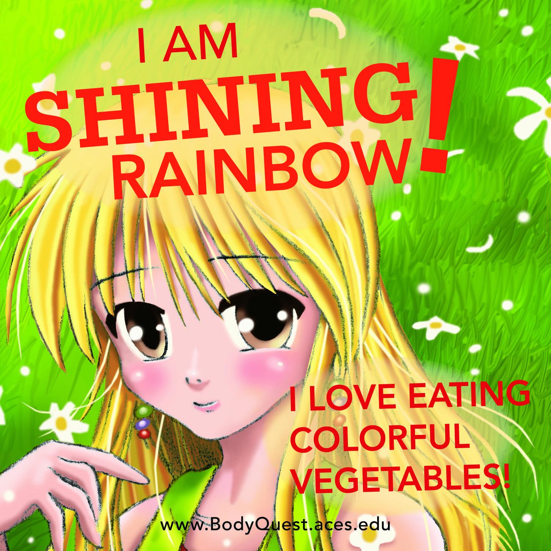 Shining Rainbow, Body Quest Warrior