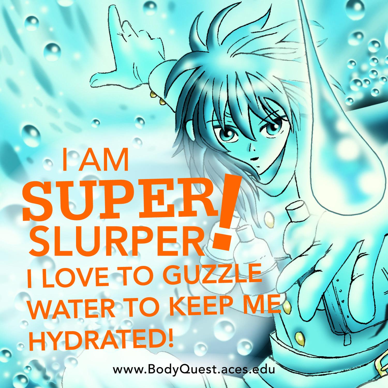 Super Slurper, Body Quest Warrior