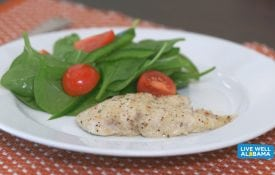 Live Well Parmesan Garlic Chicken