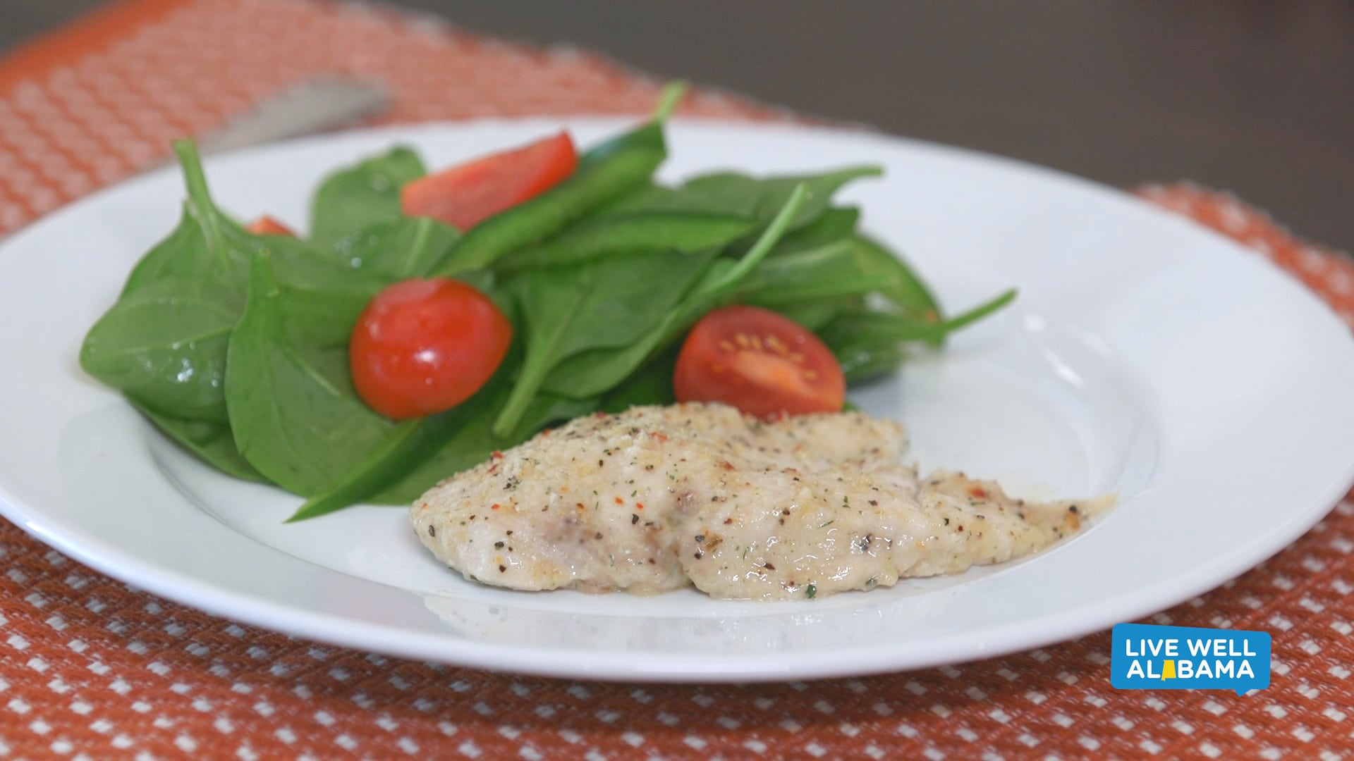 Live Well Parmesan Garlic Chicken