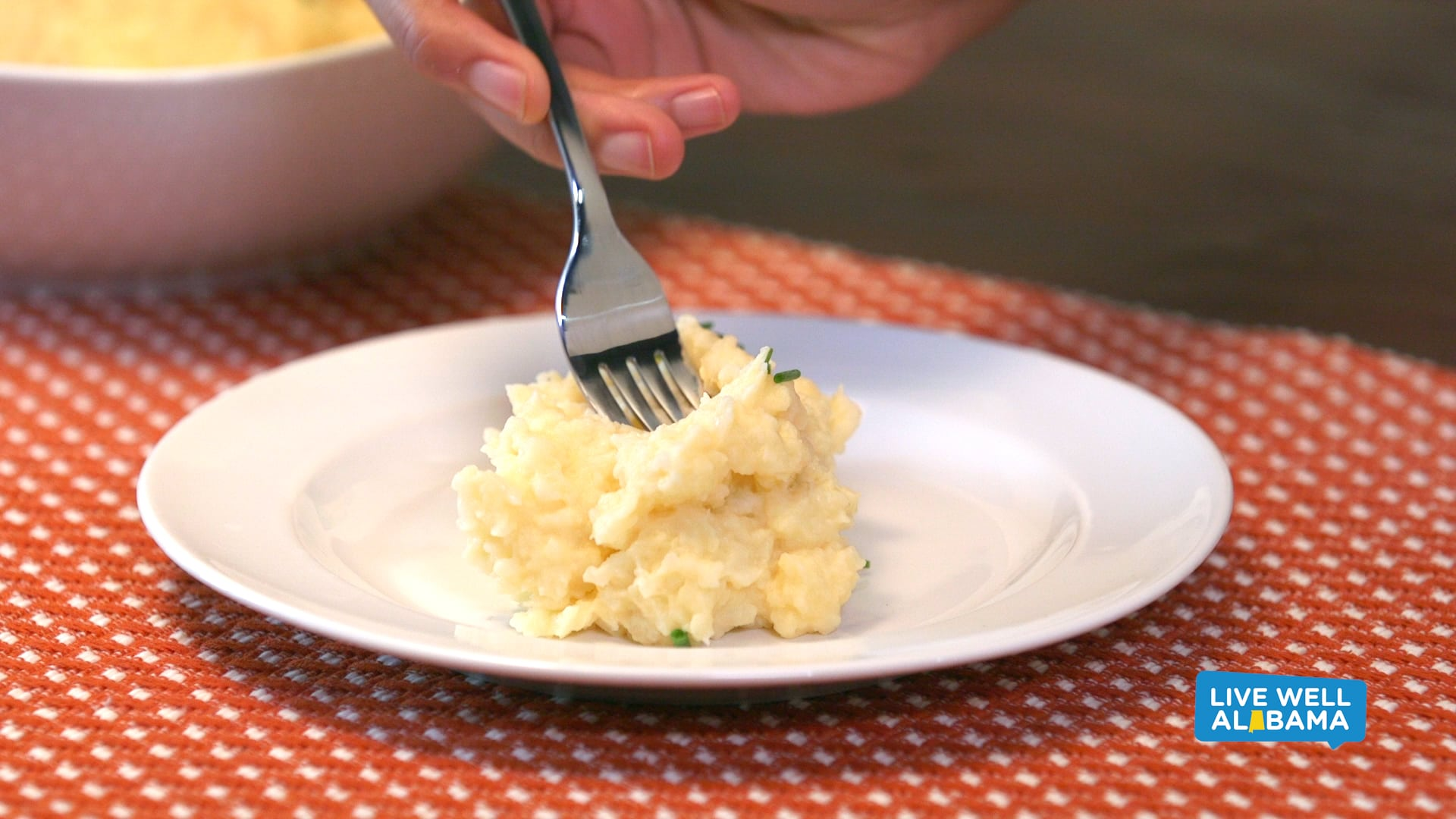 Live Well Sneaky Mashed Potatoes