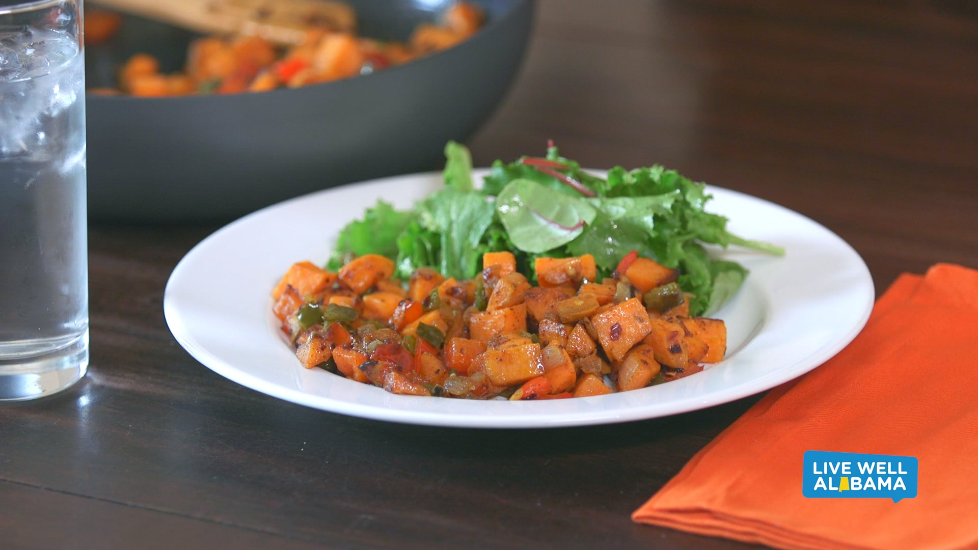 Live Well Sweet Potato Hash