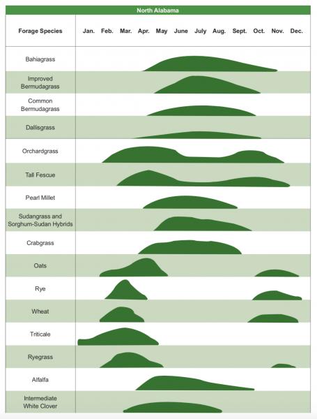 north alabama forages diagram