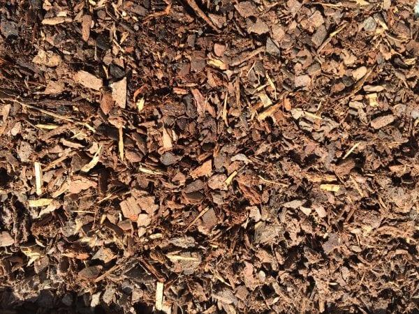 Pine bark soil conditioner