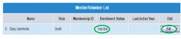 Figure 1 for re-enrolling in 4HOnline