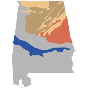 alabama soil regions