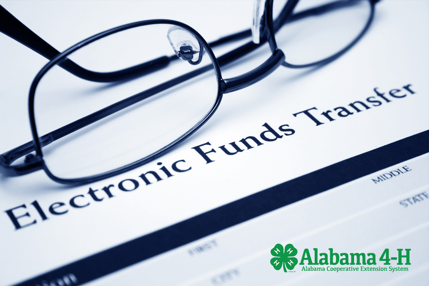 Alabama 4-H Foundation electronic funds transfer