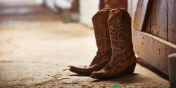 Alabama 4-H Western Heritage Project; image of cowboy boots