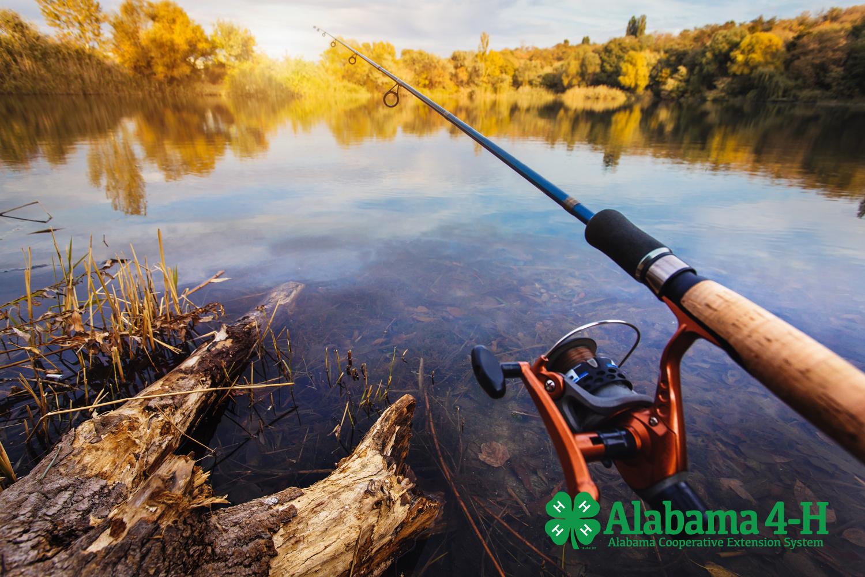 Alabama 4-H Sportfishing program; image of lake
