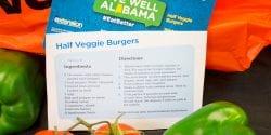 Live Well Alabama recipe card