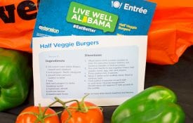 Live Well Alabama recipe card
