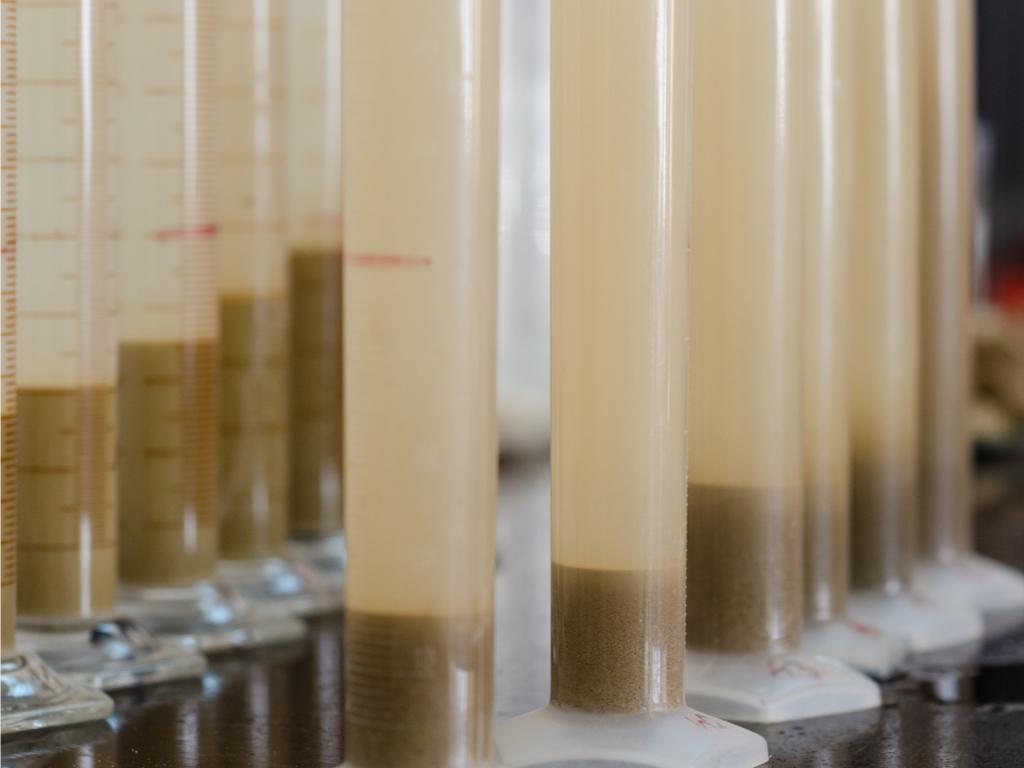 Soil pH tests.