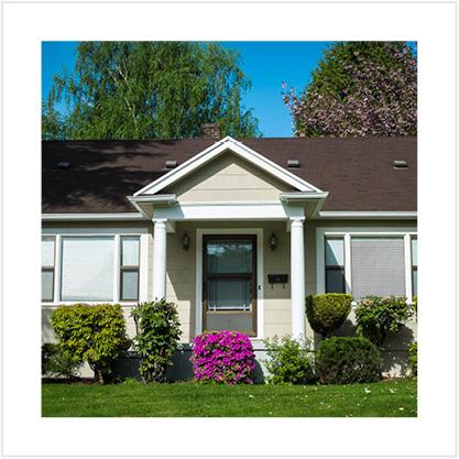 Small single-family home