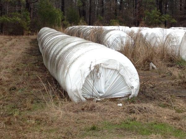 Plastic Storage Tube Haylage
