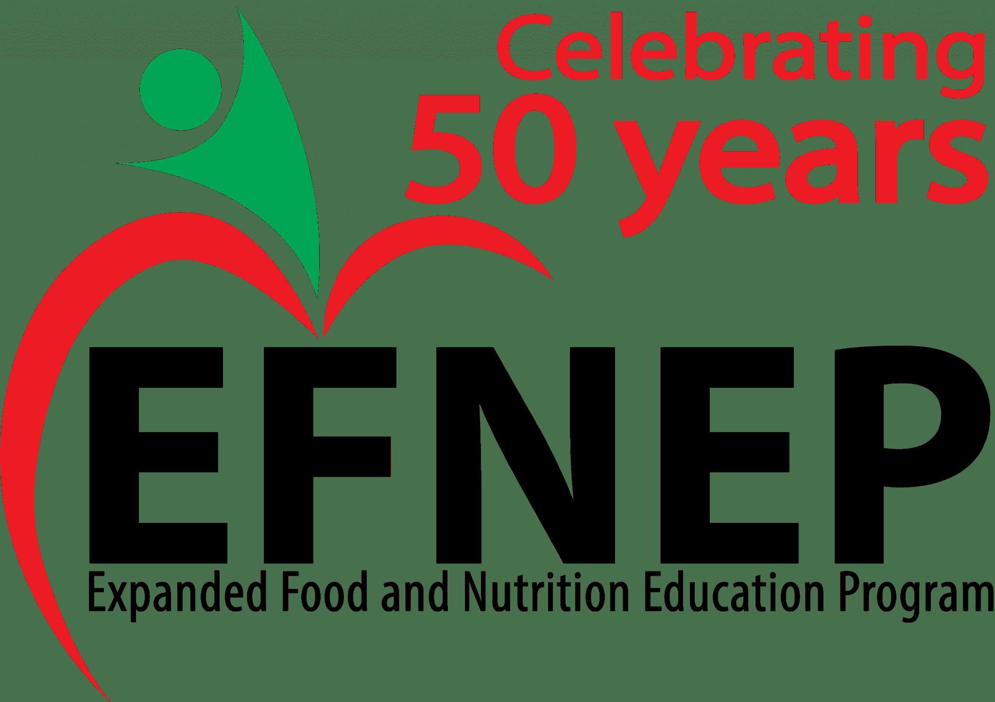 EFNEP 50 years logo