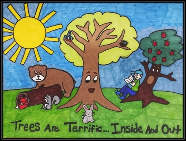 Alabama 4-H Arbor Day poster contest