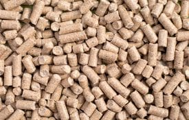 Pelleted feed.