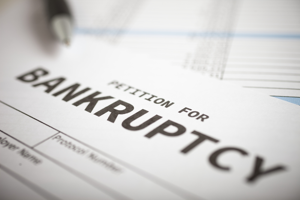 Petition for Bankruptcy document