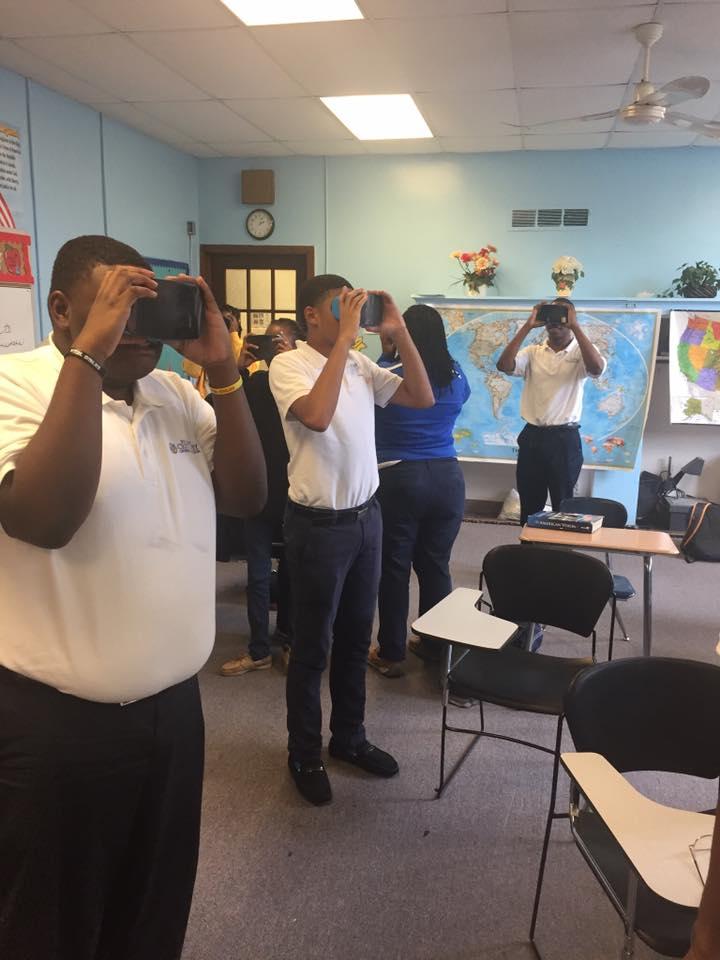 Alabama 4-H members participating in STEM activities