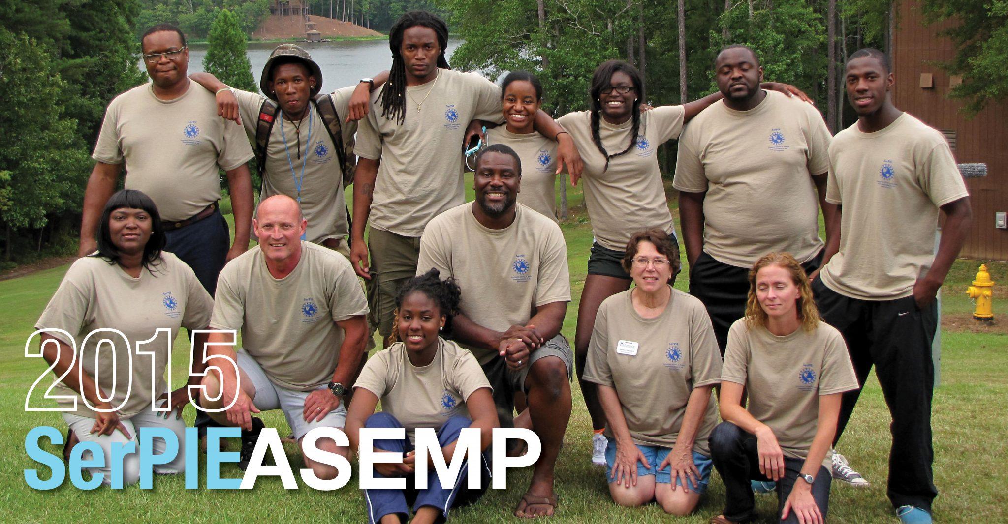 Group Picture of 2015 SerPIE ASEMP Participants