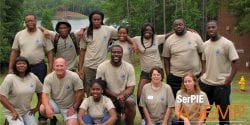 2015 SerPIE ASEMP Participants pose for a group picture