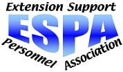 Extension Support Personnel Association logo