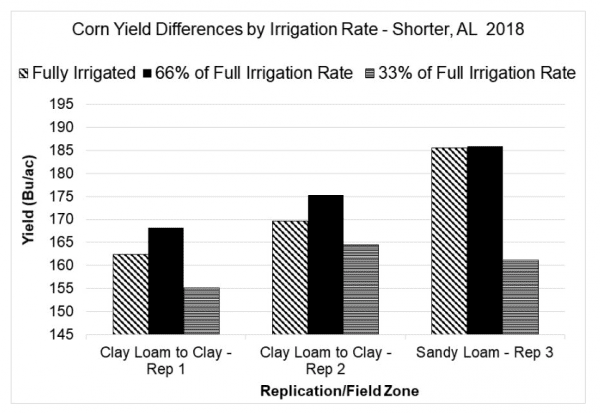 Corn Yield Differences