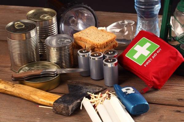 Basic supplies for emergencies