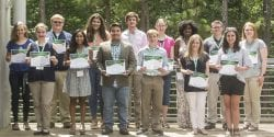 4-H Foundation scholarship recipients