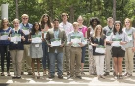 4-H Foundation scholarship recipients