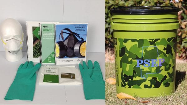Worker Protection Standard Kit with a Bucket