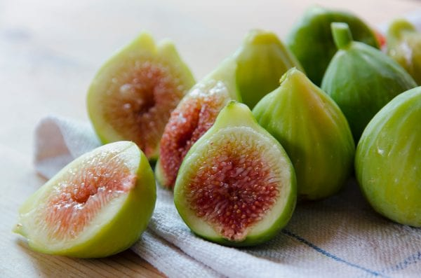 Green and yellow figs