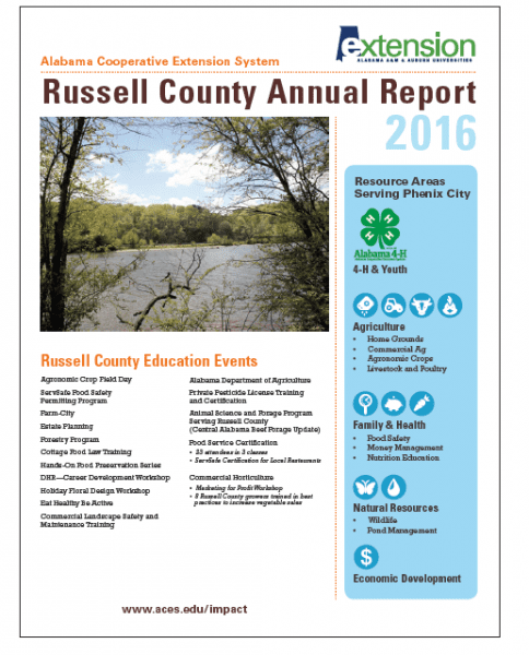 Russell County Annual Report