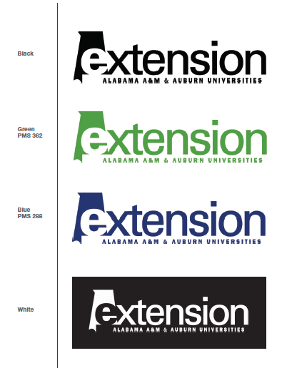 Single-color applications of logo