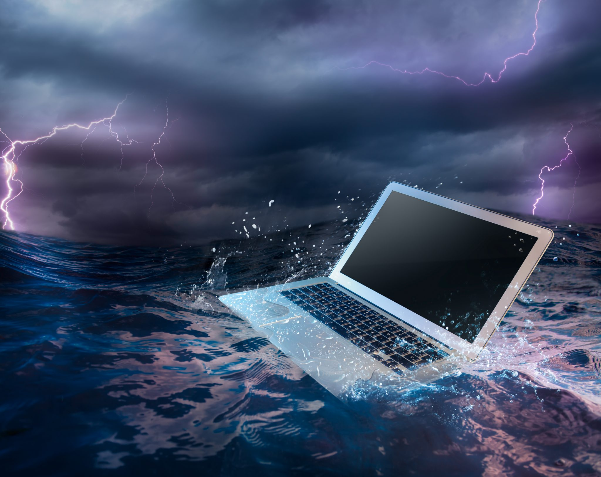 flooding and computers