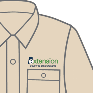 Extension on a shirt