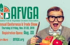 Alabama Fruit and Vegetable Growers Association (AFVGA) conference