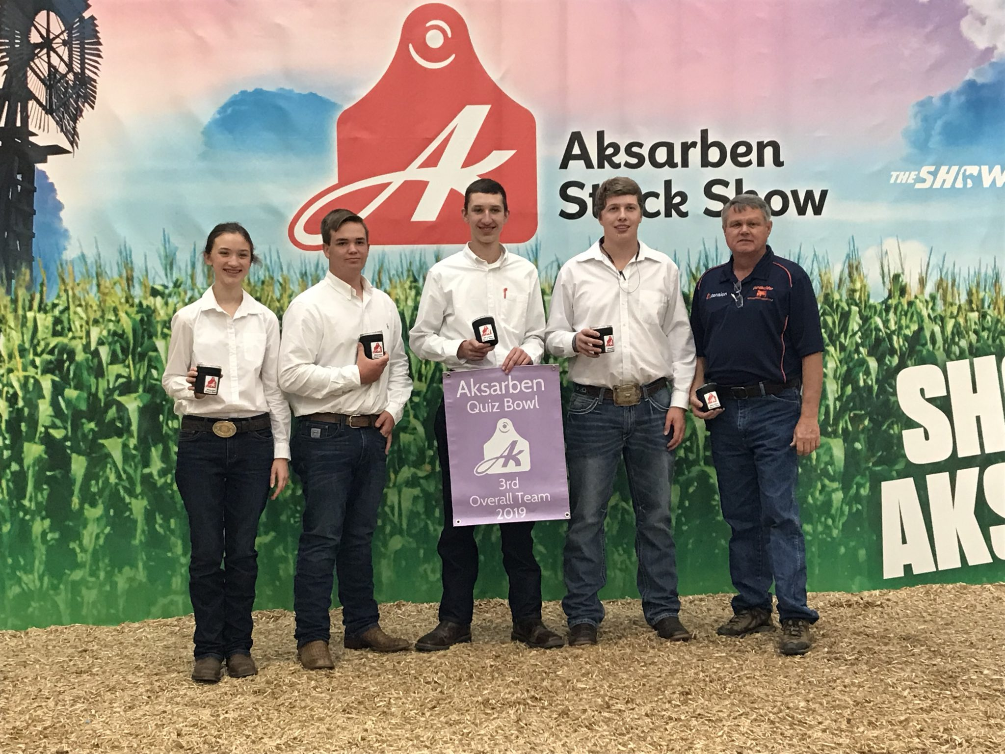 The Alabama 4-H livestock quiz bowl team recently placed third at the AKSARBEN national contest.